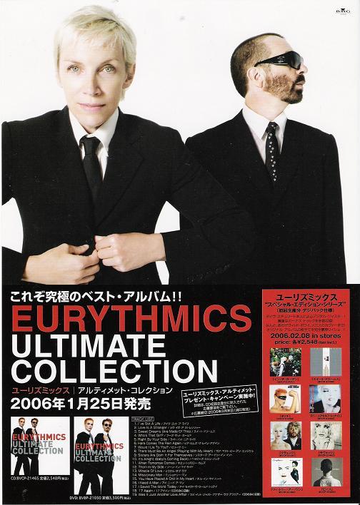 Eurythmics - Ultimate Collection Handbill