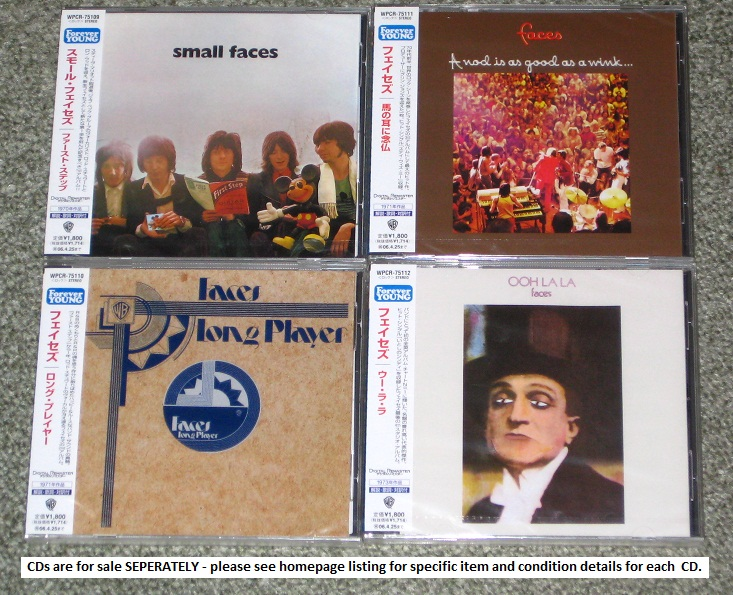 Faces Small Faces CD