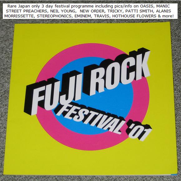Fuji Rock Festival Book 2001