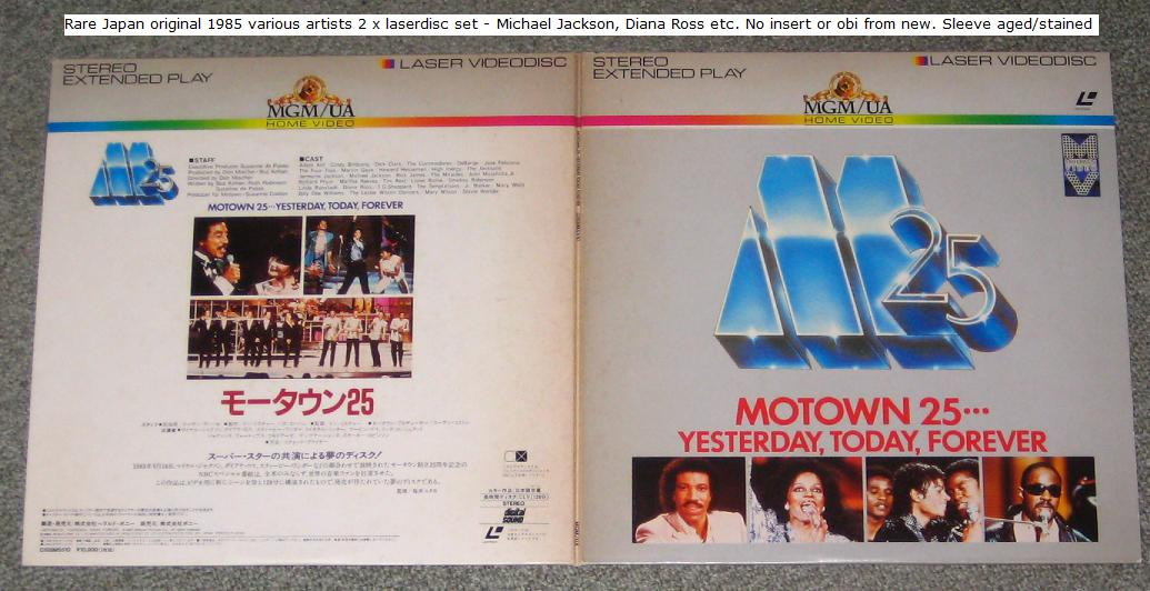 Jackson, Michael - Motown 25 Yesterday, Today