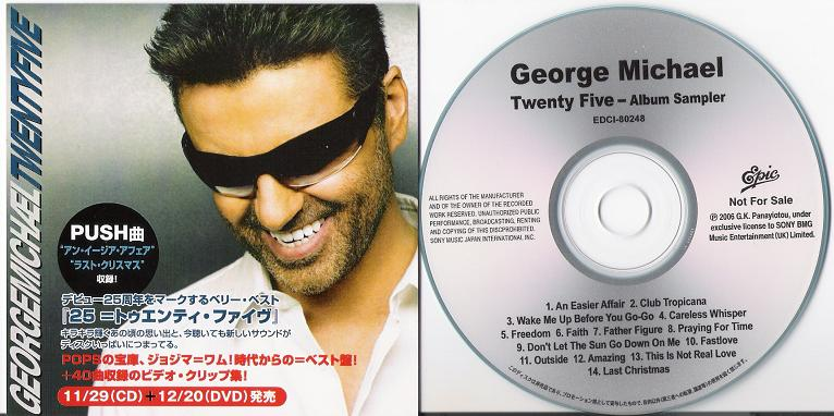 Michael, George - Twenty Five - Album Sampler