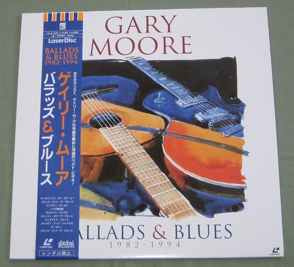 Moore,Gary Ballads And Blues 1982-1994 VIDEO:LASERDISC