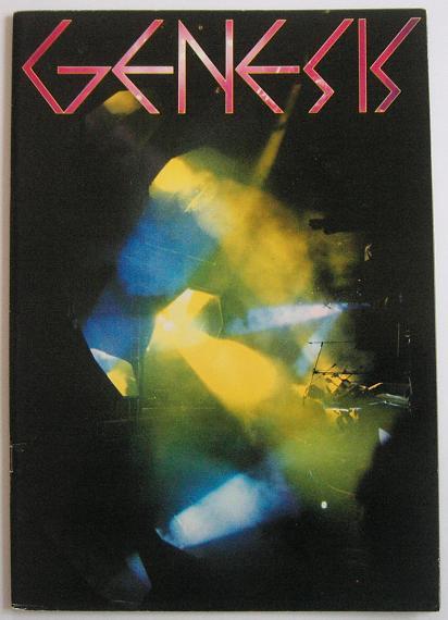 GENESIS - Japan 1978 tour book - Programme Concert