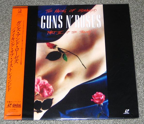 Guns 'N' Roses Making+-+Part+Iv+-+Estranged VIDEO:LASERDISC