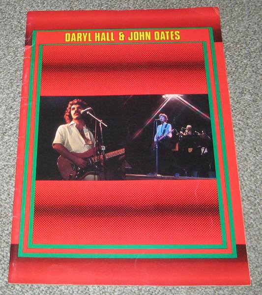 Hall And Oates Japan 1980 Tour Book - Type 1 BOOK