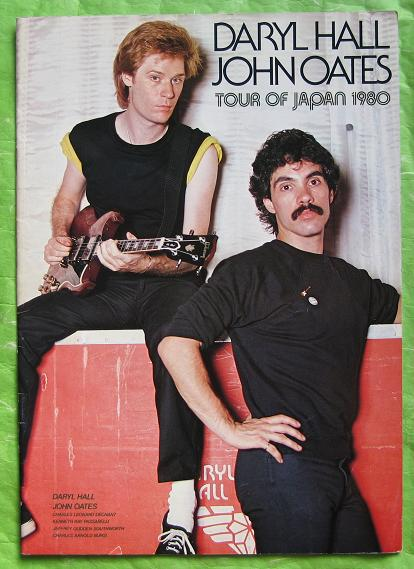 Hall And Oates Japan+1980+Tour+Book+-+Type+2 BOOK