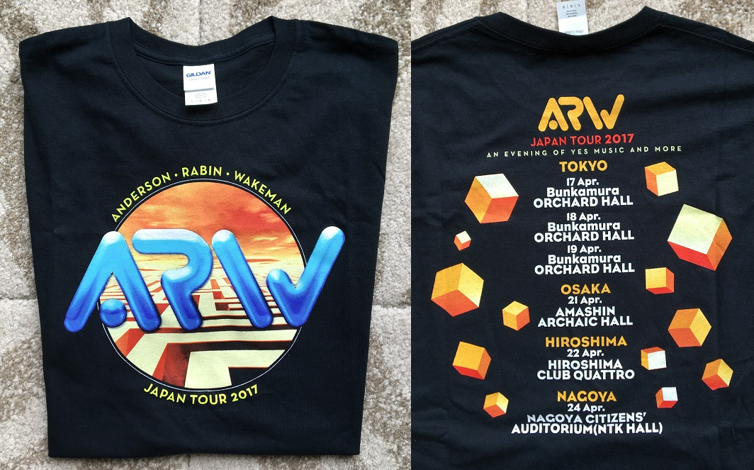 YES (ARW) - ARW Japan 2017 tour t-shirt - Others