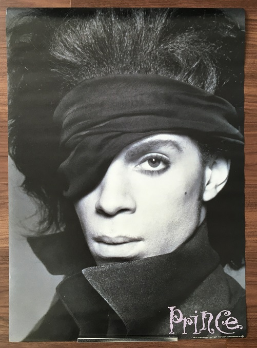 PRINCE - Japan 1990 promo poster - Poster / Affiche