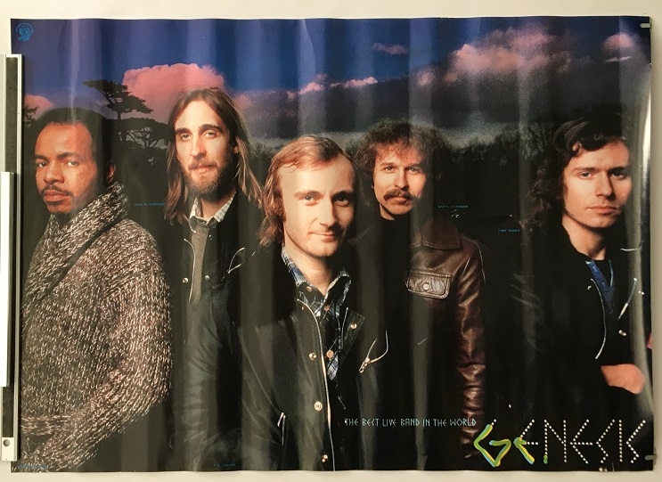 GENESIS - Original Charisma promo poster - Poster / Affiche