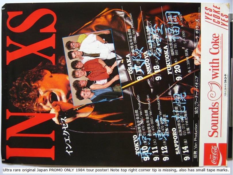 Japan 1984 Tour Book