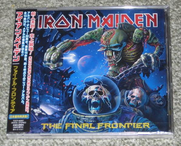 Iron Maiden - The Final Frontier Single
