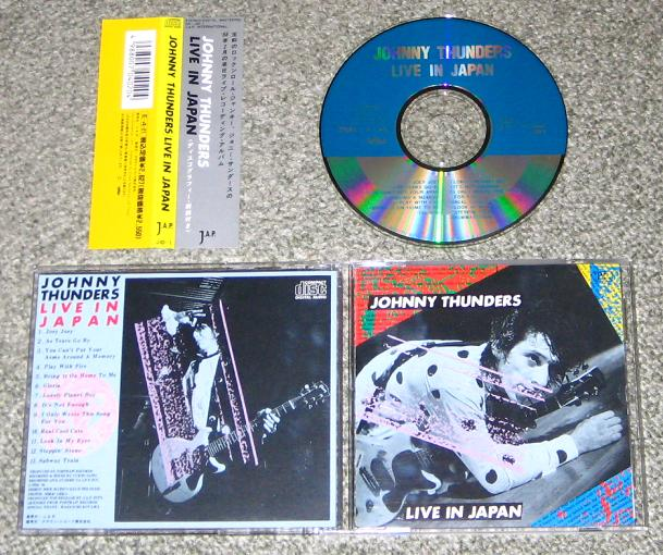 Thunders, Johnny - Live In Japan (3rd Feb 1988)