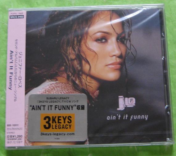 LOPEZ, JENNIFER - Ain't It Funny - CD single