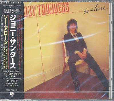Thunders,Johnny So+Alone CD