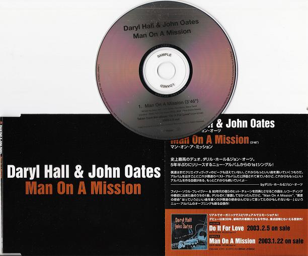 Hall & Oates - Man On A Mission