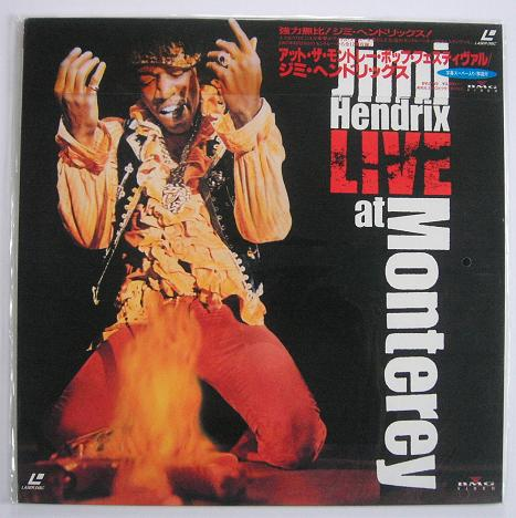 Hendrix, Jimi - Live At Monterey Single