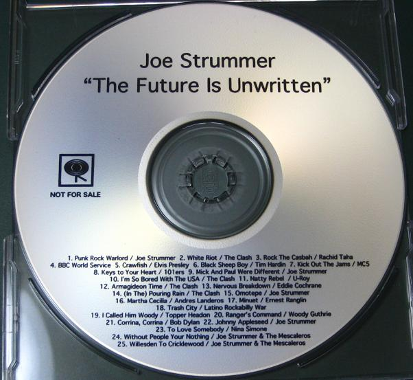 The Future Is Unwritten Ost