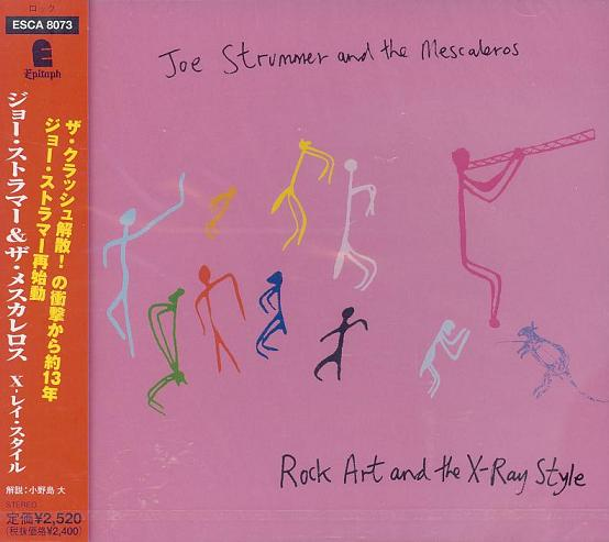 Clash (Joe Strummer) - Rock Art & The X-ray Style
