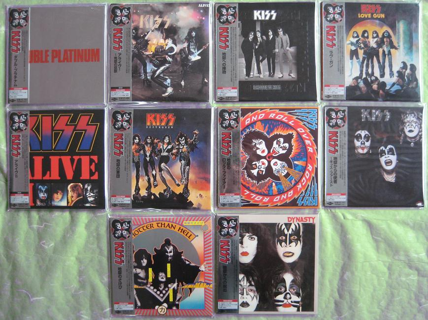 Kiss Double+Platinum CD