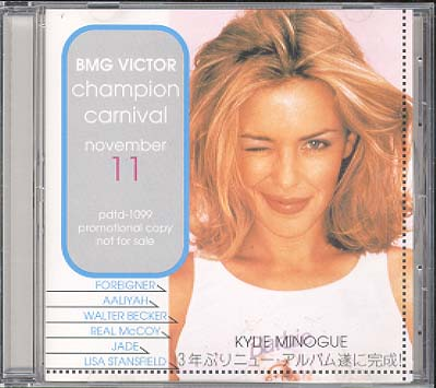 Bmg Victor Nov. 1994 - Minogue, Kylie