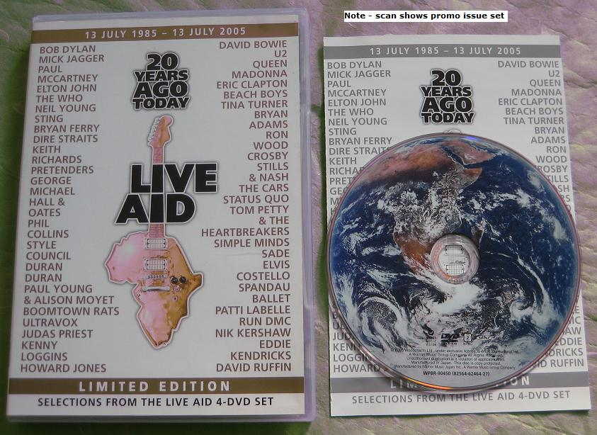 Live Aid Selection Limited Edn