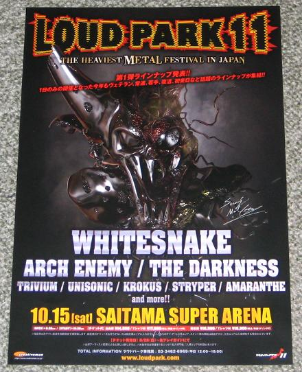 Loudpark Festival Jpn Handbill