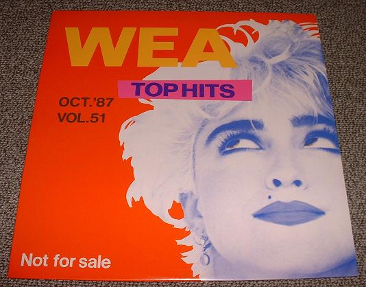Madonna - Top Hits October 1987
