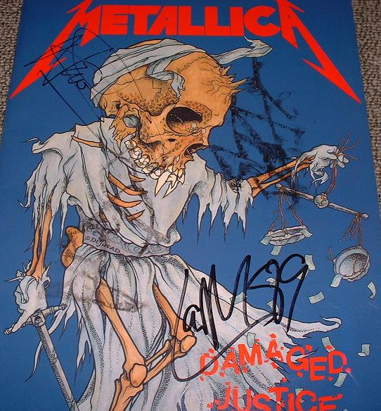 Metallica - Metallica Signed Tour Book!