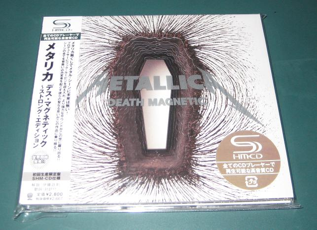 Metallica - Death Magnetic Shmcd Issue