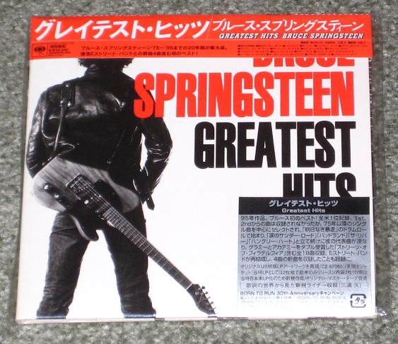 bruce springsteen greatest hits album cover. Springsteen, ruce - Greatest