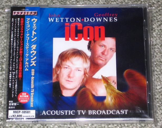 Asia Icon - Wetton/Downes CD