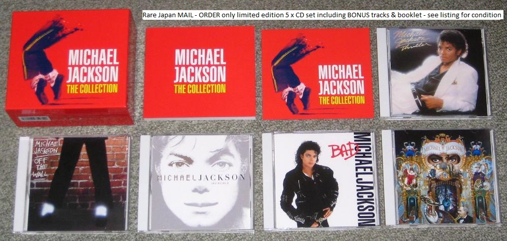 Mj - The Collection 5cd Set
