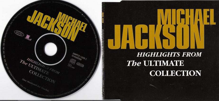 Michael Jackson Ultimate Collection: Michael Jackson Highlights From The Ultimate Collection