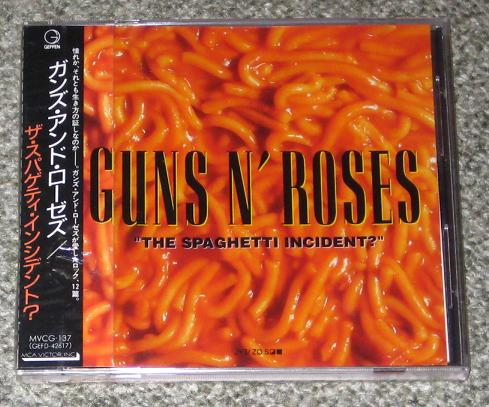 Gun The Spaghetti Incident Records Vinyl And Cds Hard