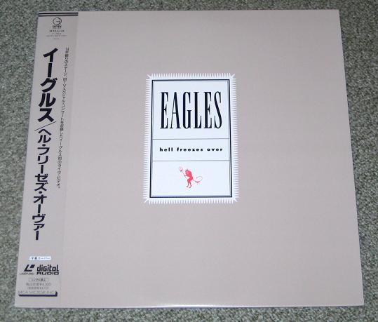 Eagles Hell+Freezes+Over VIDEO:LASERDISC
