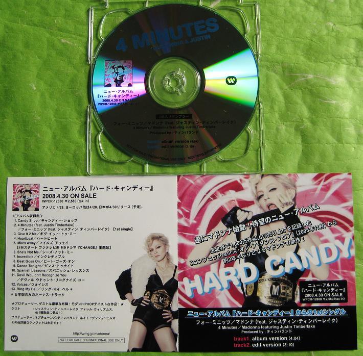 MADONNA - 4 Minutes - CD