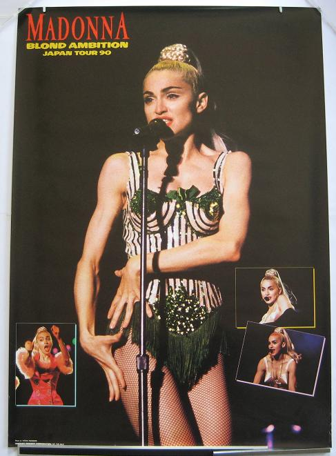 Madonna Japan 1990 Tour Poster POSTER