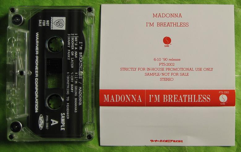 Madonna I'm Breathless PROCT