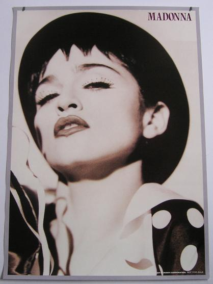 Madonna Japan Promo Only 1990 POSTER