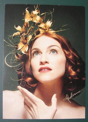 Uk Max Factor Postcard