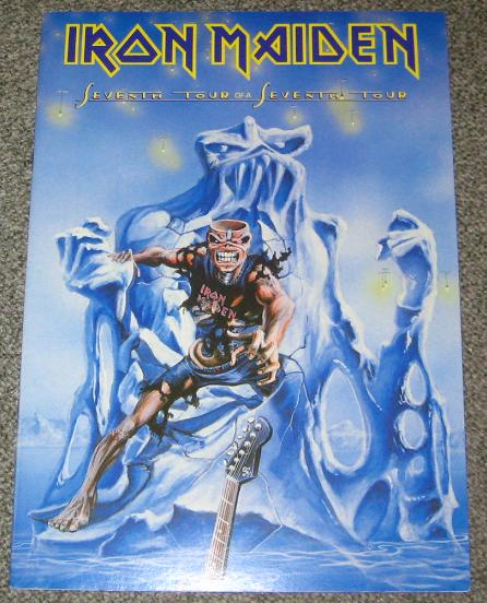Iron Maiden - Seventh Tour 1988 Tour Book