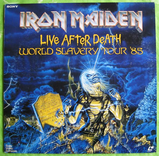 Iron Maiden - Live After Death Tour 1985
