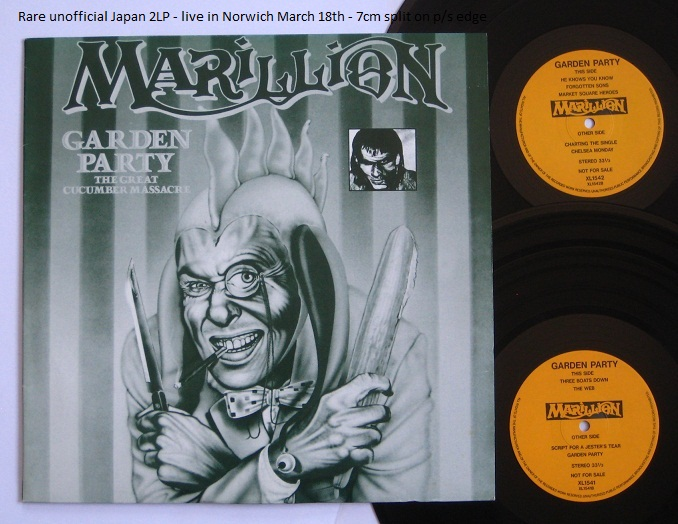Marillion Garden Party /Cucumber Massacr LP
