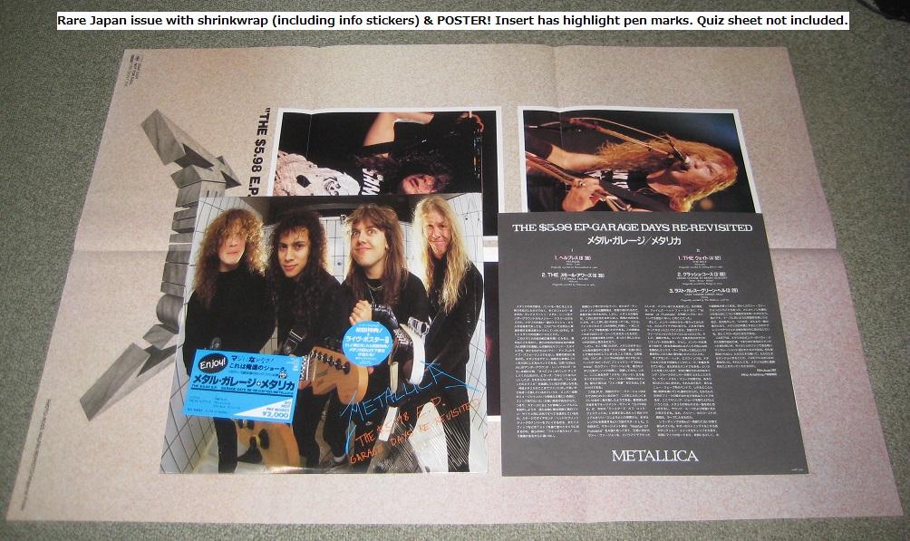 Metallica - The $5.98 E.p. + Poster