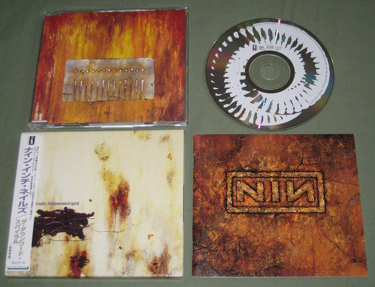 Nine Inch Nails The+Downward+Spiral CD