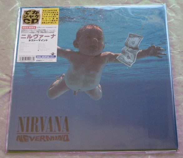 Nirvana - Nevermind - Lp Size Sleeve Ver