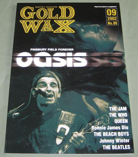 Gold Wax September 2002