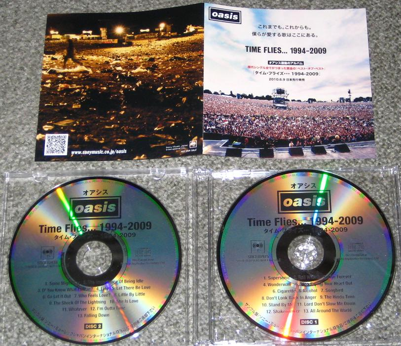 Oasis - Time Flies 1994/09 2 X Cd Set!