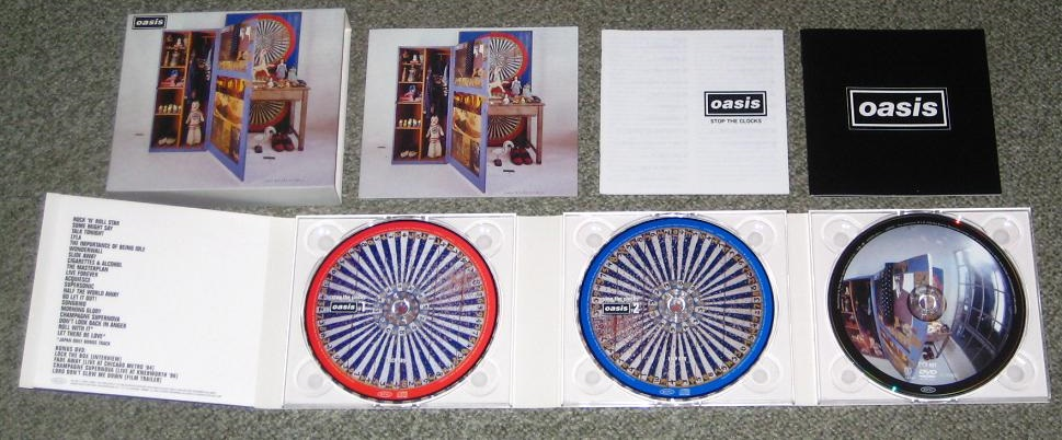 Oasis - Stop The Clocks Limited Edn