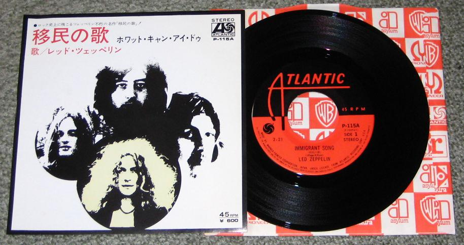 Led Zeppelin - Immigrant Song CD